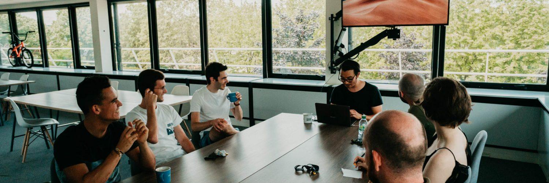 Photographie d'une réunion marketing