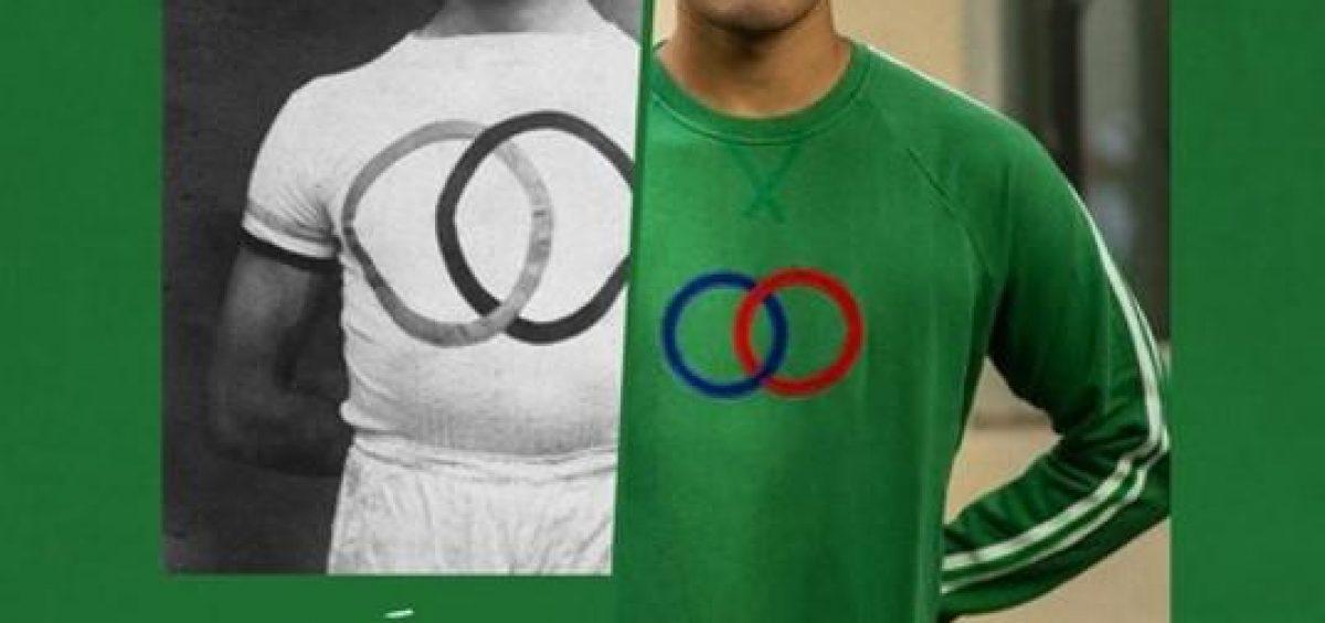 Affiche illustrant le concept de la marque sport d'époque